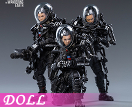 DL3997 1/18 Wandering Earth-Chinese Rescue Team (DOLL)