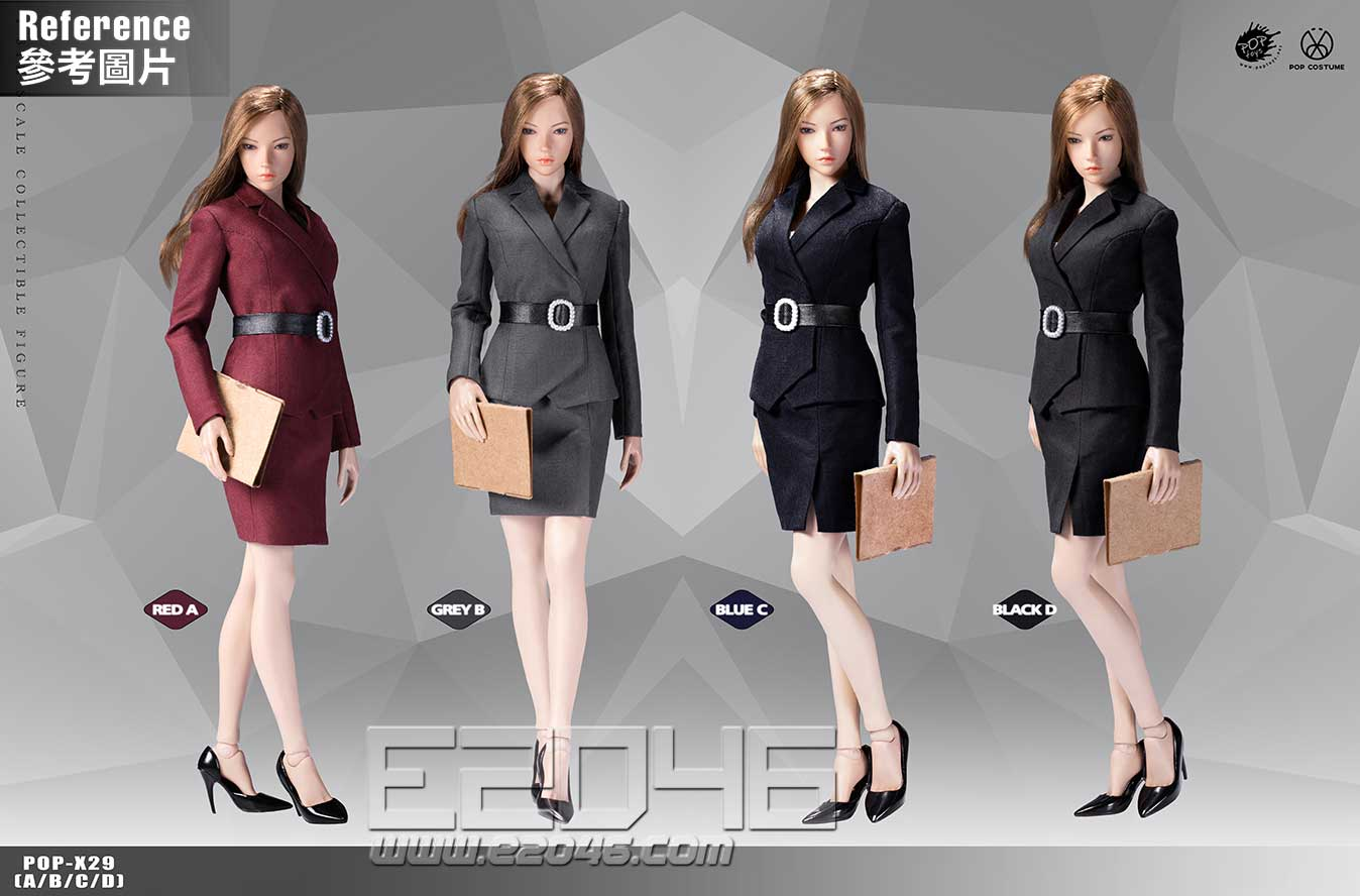 Female Suit Skirt Version D (DOLL)