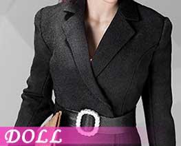 DL2338 1/6 女士西服套装裙装款 D (人偶)