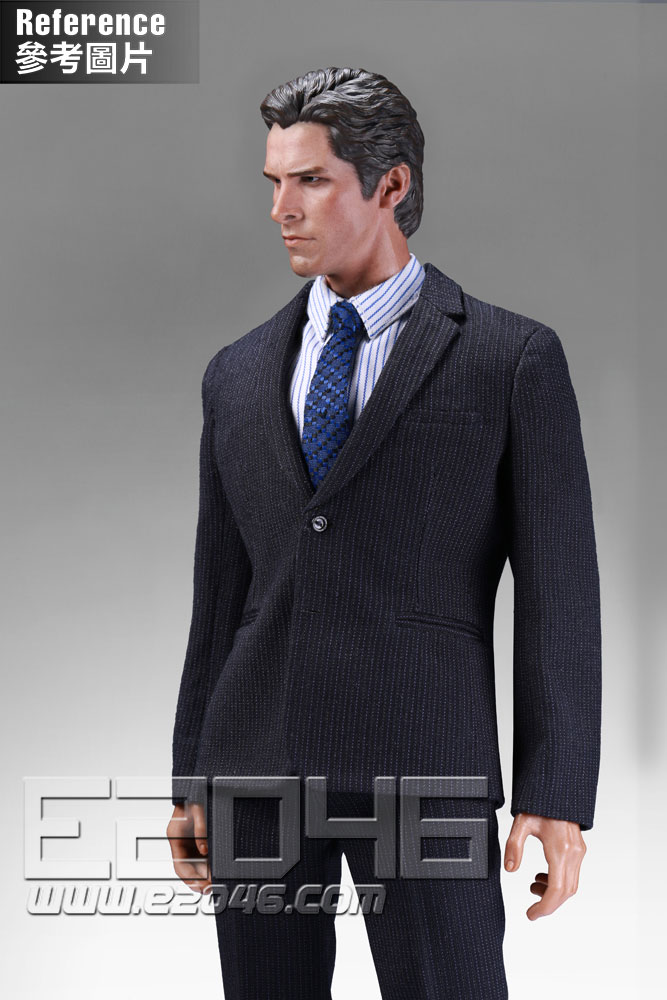 Male western-style clothes striped suit A (DOLL)