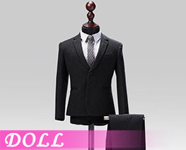 DL1842 1/6 Male Western-style Clothes Striped Suit A (DOLL)