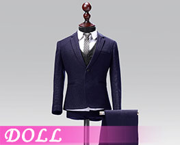 DL1840 1/6 Male Western-style Clothes Suit Solid Colors Version B (DOLL)