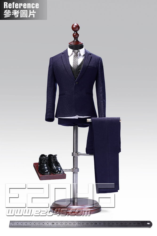 Male western-style clothes suit solid colors version B (DOLL)