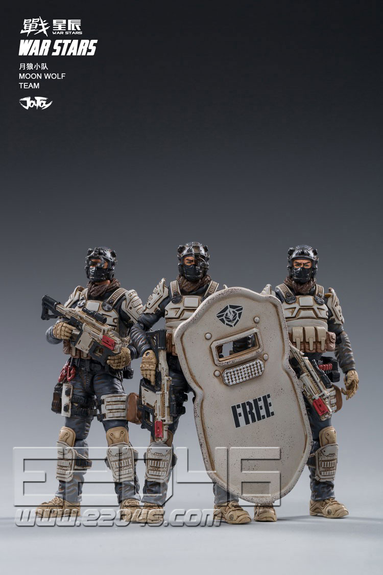 Moon Wolf Team (DOLL)