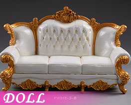 DL2819 1/12 Sofa Three Person B (DOLL)