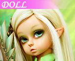 DL0129 1/6 Milaya Windhunter Naked Doll (Dolls)