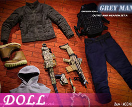 DL2803 1/6 Outfit And Weapon Set A (DOLL)