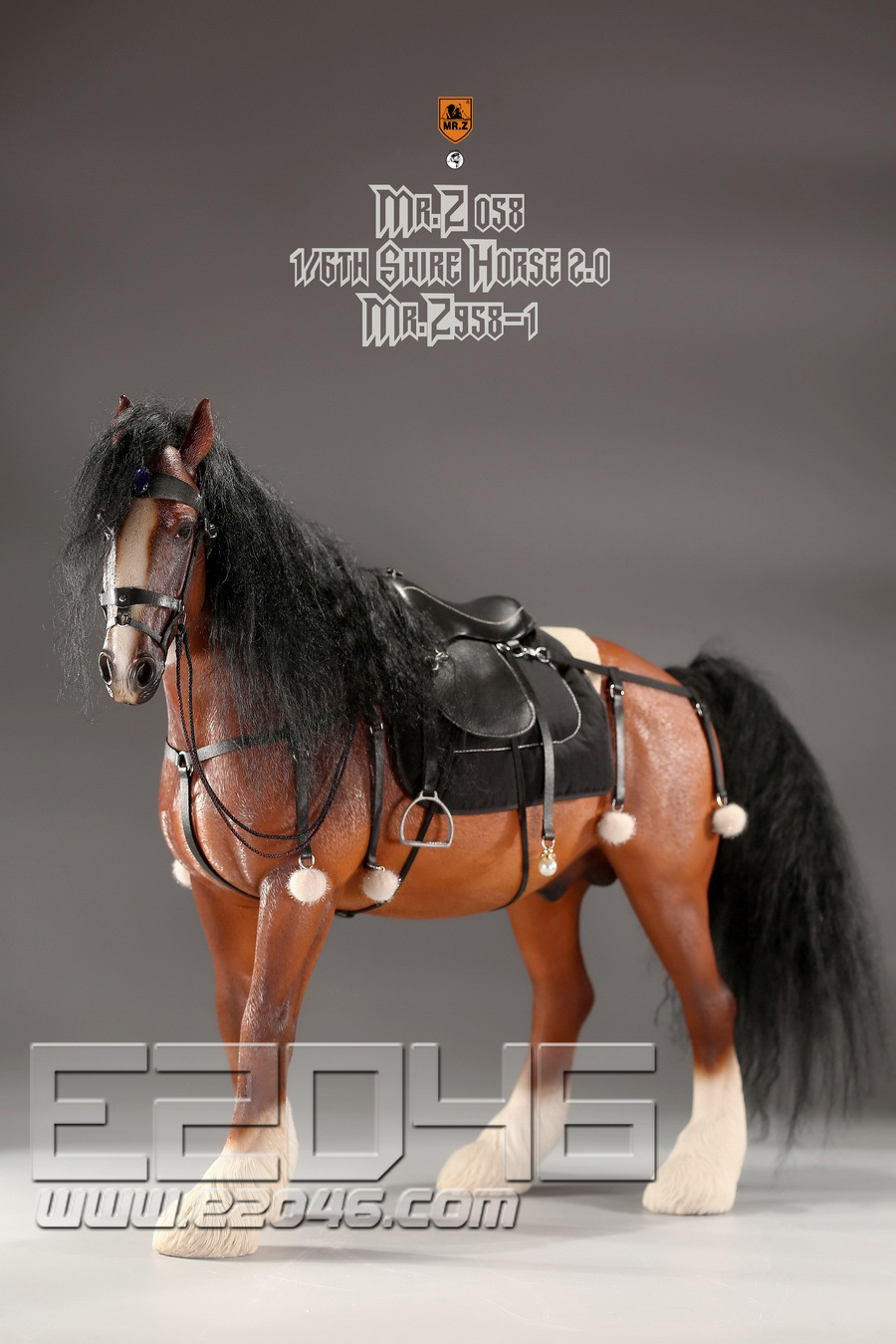 Shire Horse 2.0 A Set (DOLL)
