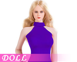 DL1918 1/6 Sexy Lady Double Slit Skirt Suit A (DOLL)