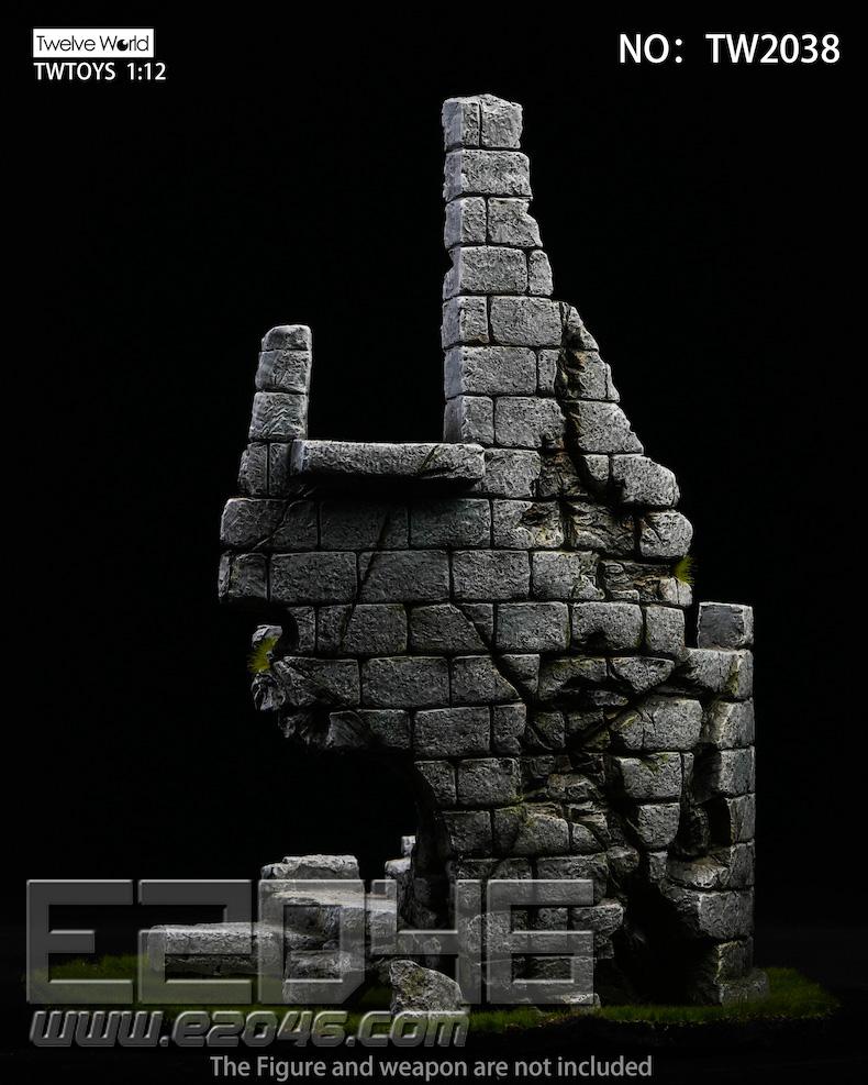 Castle Ruin Scene (DOLL)