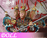 DL0796 1/6 Monkey King Version Of Three Heads and Six Arms (Doll)