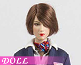 DL3879 1/6 Chinese Flight Attendant Uniform Set B (DOLL)