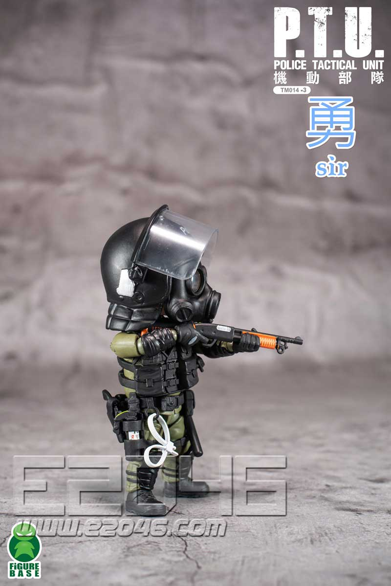 PTU 防暴警察 C (人偶)