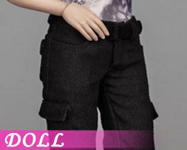 DL3168 1/6 Female Pants Black Version (DOLL)