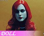 DL0675 1/6 Beautiful redhead head (Doll)