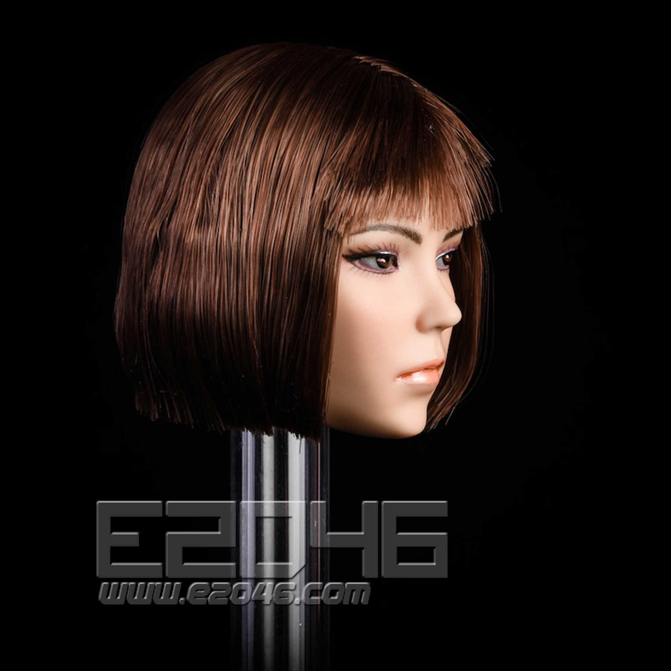Miscegenation female head A (DOLL)