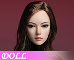DL0966 1/6 Asian Female Head Sculpture C (Doll)
