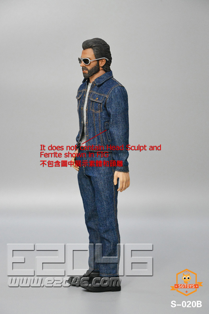 Men's Denim Suit B (DOLL)