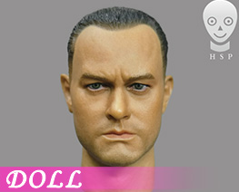 DL4651 1/6 European Men's Head Sculpture (DOLL)