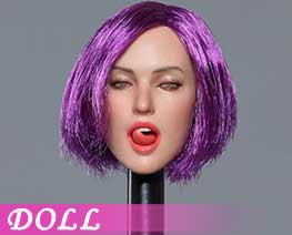 DL1567  Emoticon Female Head C (DOLL)