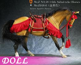 DL3614 1/6 Akhal Teke Horses  Set F (DOLL)