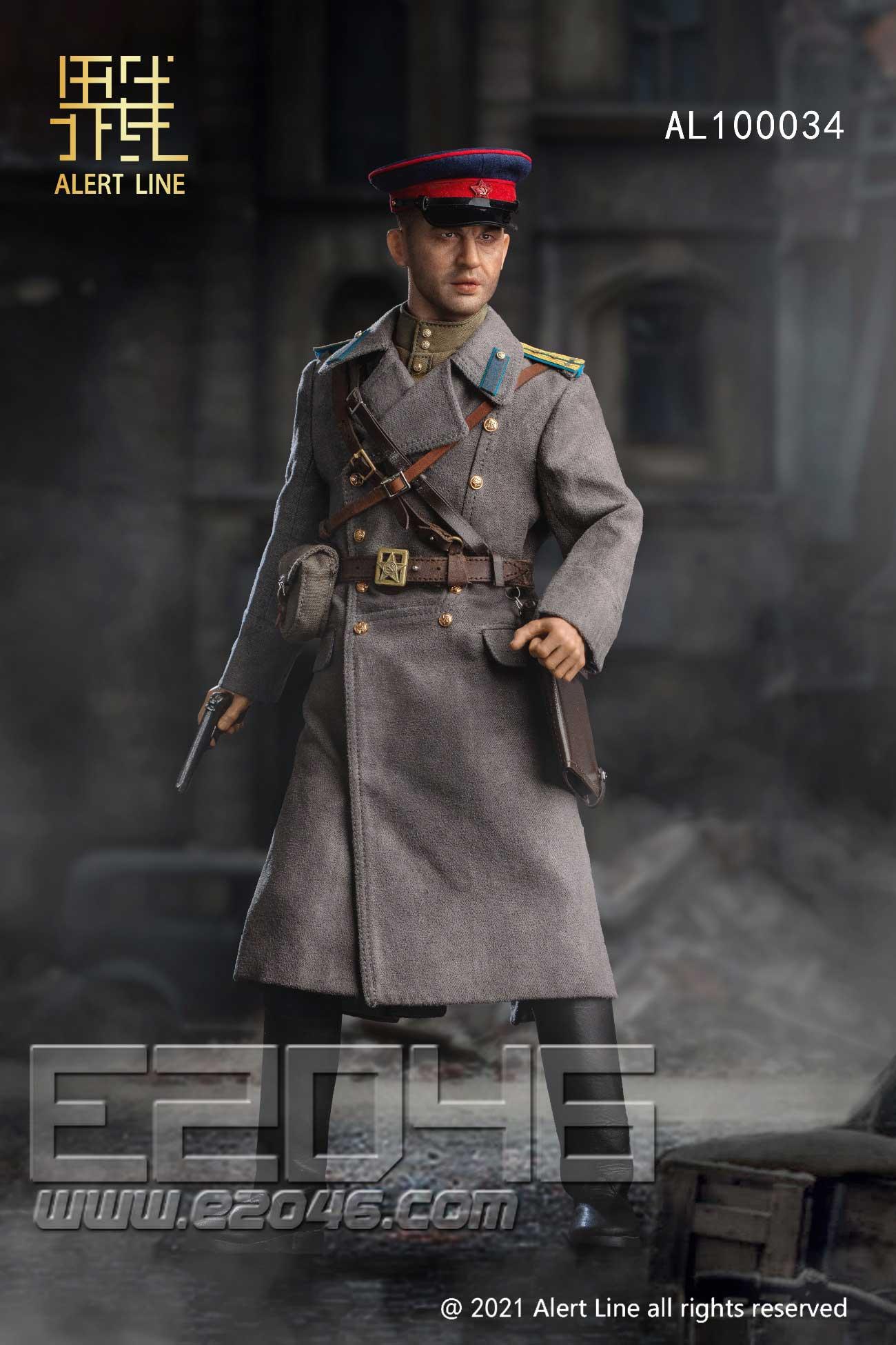 WWII Soviet NKVD Officer (DOLL)