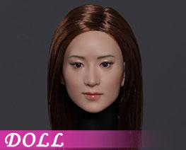 DL3484 1/6 亞洲美女頭雕 B (人偶)