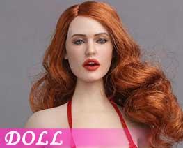 DL1450 1/6 Emoticon Female Head D (DOLL)