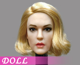 DL4588 1/6 European Beauty Head Sculpture C (DOLL)