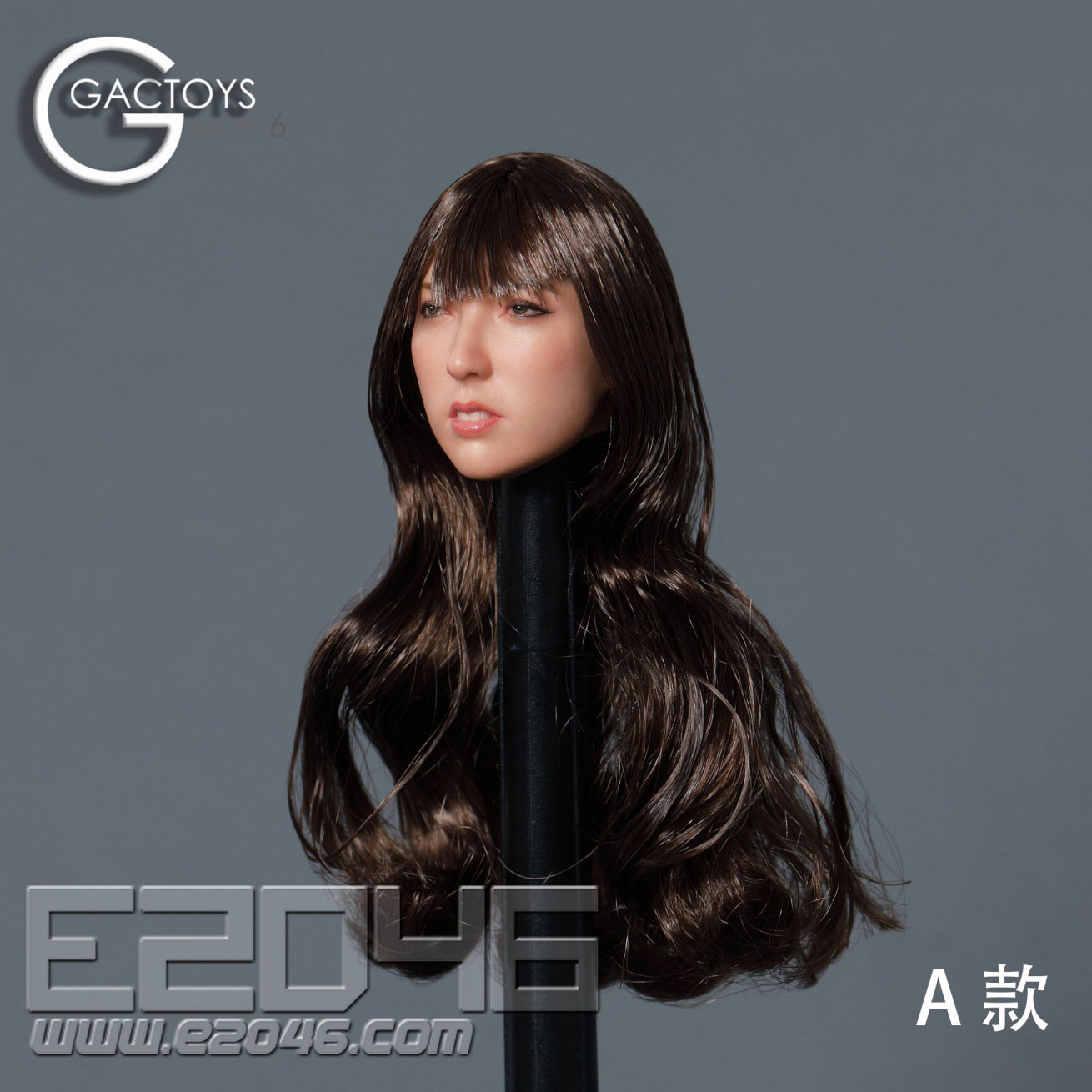 Asian Classic Head Sculpture A (DOLL)