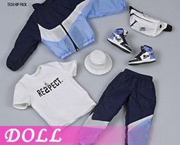 DL4156 1/6 Trendy Sports Suit A (DOLL)