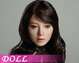 DL1901 1/6 可動眼女頭雕 A (人偶)