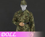 DL0763 1/6 Camouflage Uniform suit A (Doll)