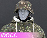 DL0564 1/6 The Ss And The Wehrmacht Snow Double Sided Cotton Padded Jacket D (Doll)