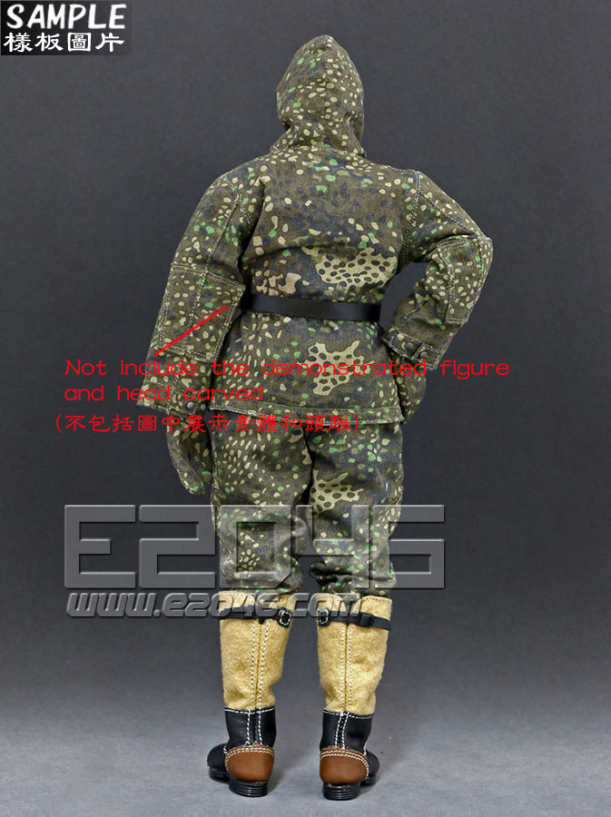 The Ss And The Wehrmacht Snow Double Sided Cotton Padded Jacket D (Doll)