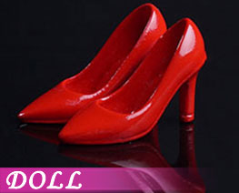 DL2229  Fashion High Heels Red (DOLL)
