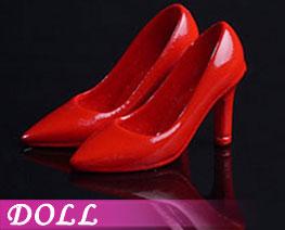 DL2229  時尚女高跟鞋紅色 (人偶)