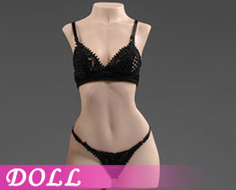 DL3016 1/6 Exquisite Underwear M Black C (DOLL)