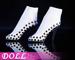 DL1686 1/6 Rivet booties B (DOLL)