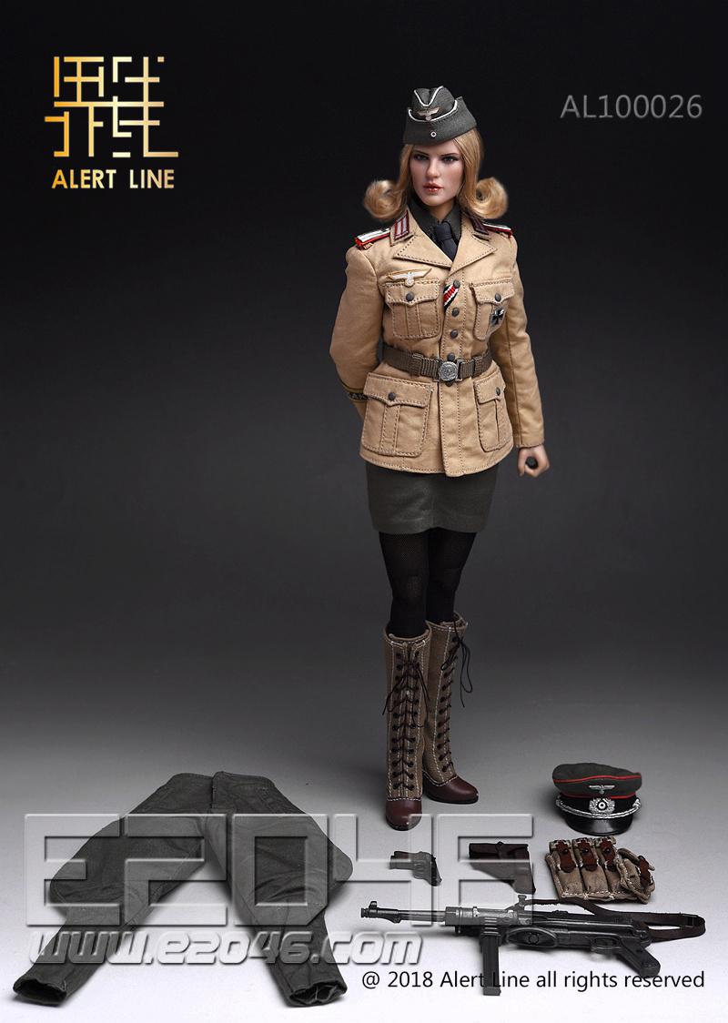 Afrika Female Officer (DOLL)