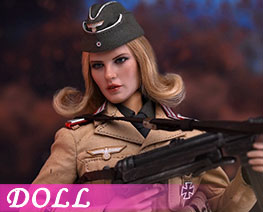 DL3797 1/6 Afrika Female Officer (DOLL)