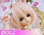 DL0074  Little White Cat (Dolls)