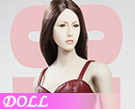 DL0481 1/6 Ladies Sexy Leather Skirt Dress Suit B (Doll)