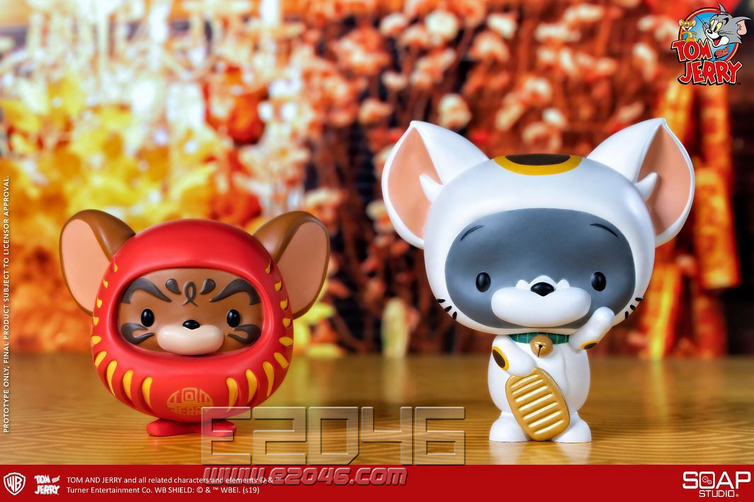 Tom and Jerry Lucky Cat Edition (DOLL)