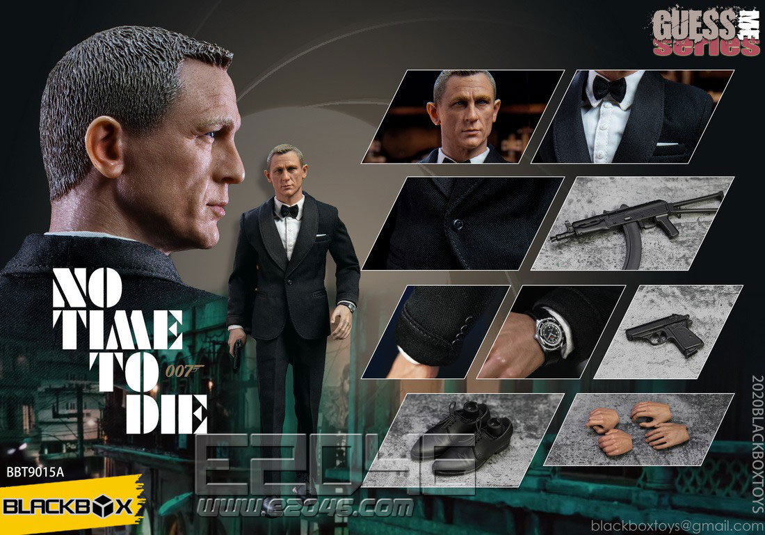 No Time To Die Black Suit Version (DOLL)