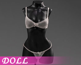 DL3020 1/6 Exquisite Underwear M White G (DOLL)