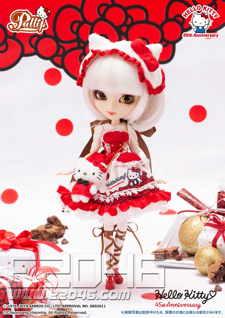 Hello Kitty Pullip 45th Anniversary Version (DOLL)