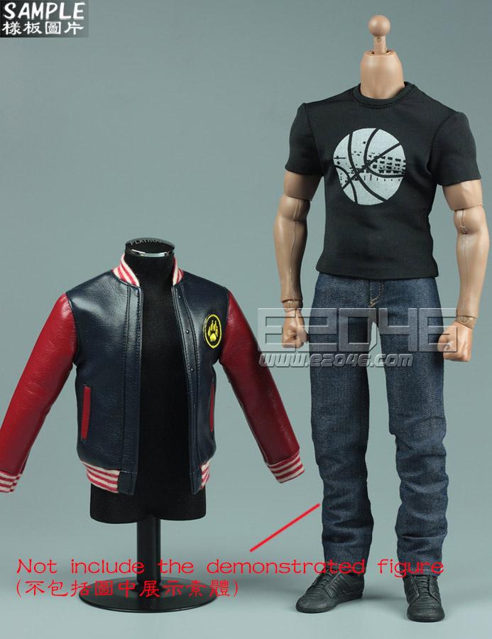leather jacket leisure suit B (Doll)