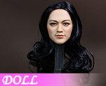 DL0716 1/6 Asian female head sculpture (Doll)