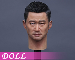 DL1313 1/6 Asian superstar - Tough Guy Head Carving (Doll) (Doll)